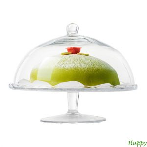 happy moments_ cake plate