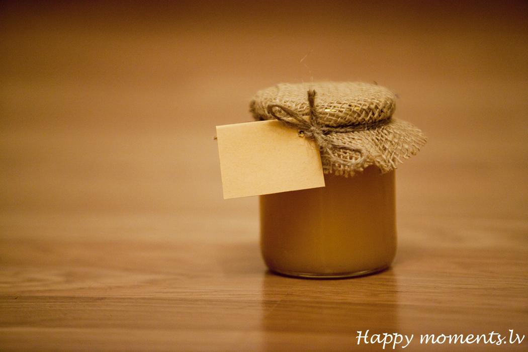 Подарки мед в баночке 319