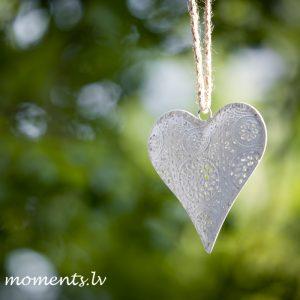 Декоративное сердце (металлическое)