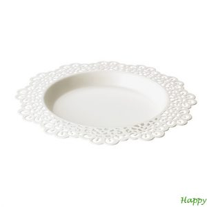 happy moments_candle small plate