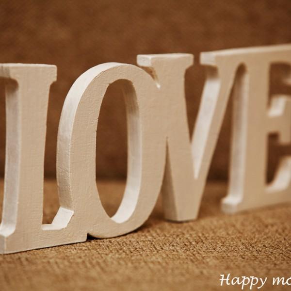 happy moments_ Декоративная надпись «Love» (2)