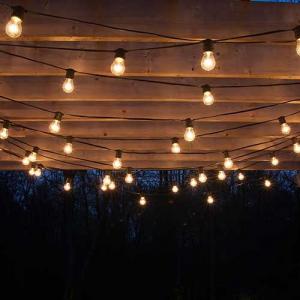 Гирлянды из лампочек накаливания