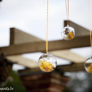Декоративные стеклянные шары