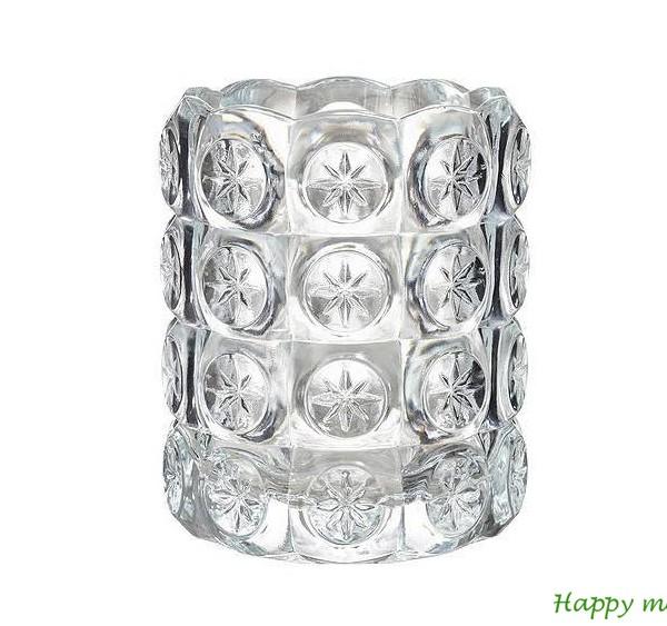 Happy moments_ stikla svečturis