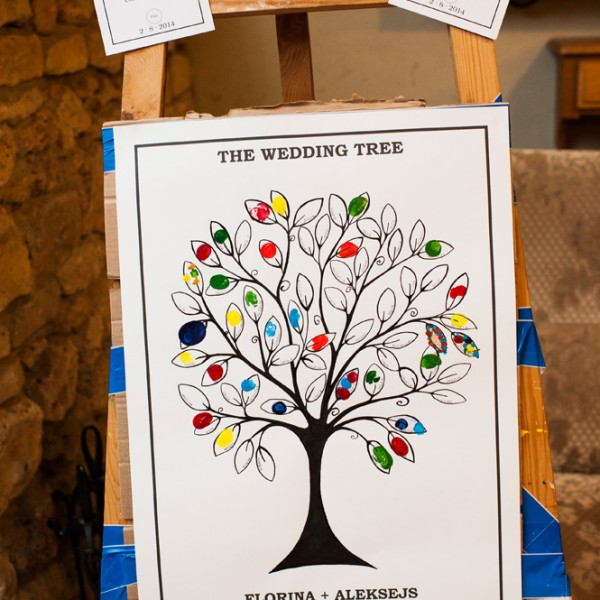 Wedding tree project