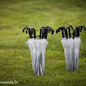 Прозрачные зонтики